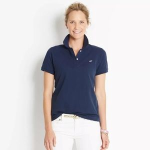 Vineyard Vines Navy Blue Polo Shirt in size Medium